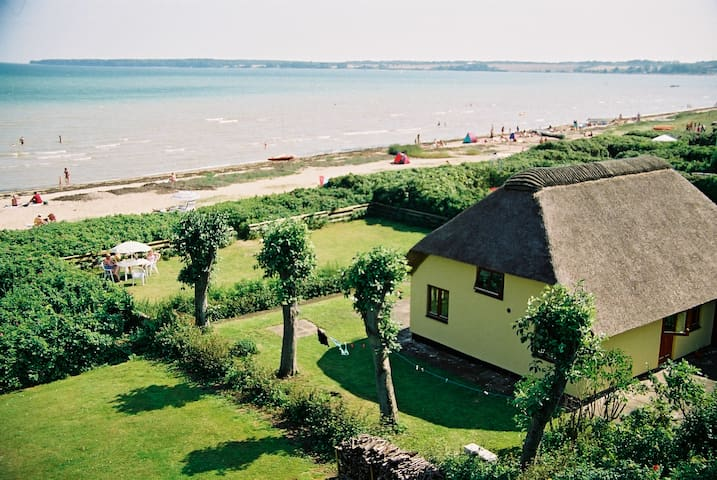 Beach Front - Sea View Summer House - Juelsminde - Kabin