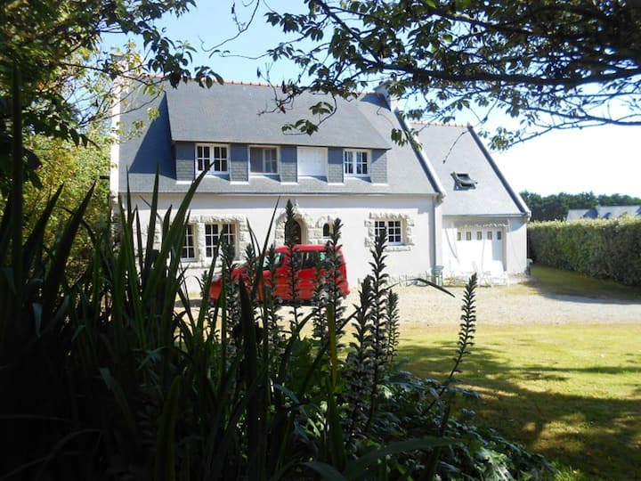 House with 3 bedrooms in Plogoff, with furnished garden and WiFi