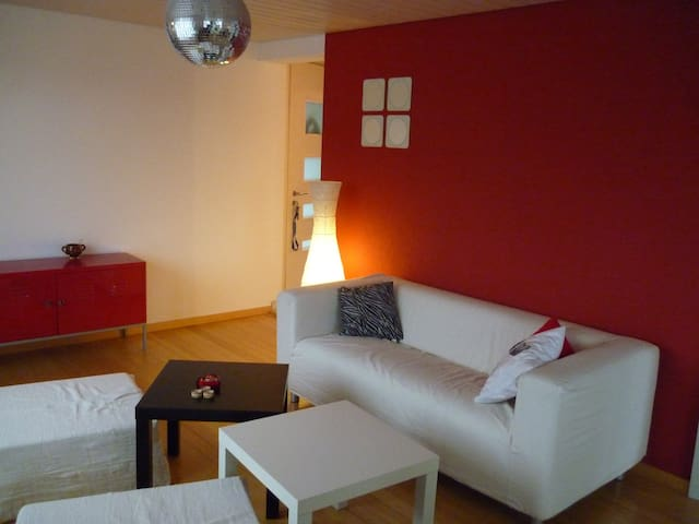 Nice apartment in a quiet area - Wünnewil - Apartment