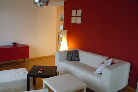 Nice apartment in a quiet area - Wünnewil - Huoneisto