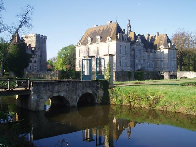 Chateau of Saint-loup - Poitiers - Saint-Loup-Lamairé - Kastil