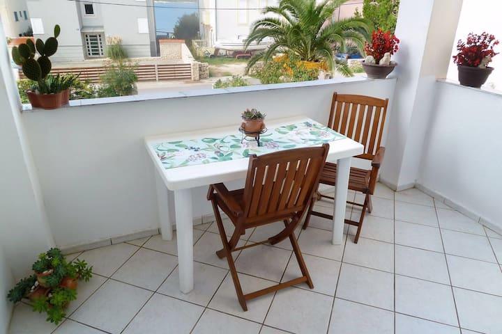 Apartman Sara with garden & barbecu - Stara Novalja - Apartamento