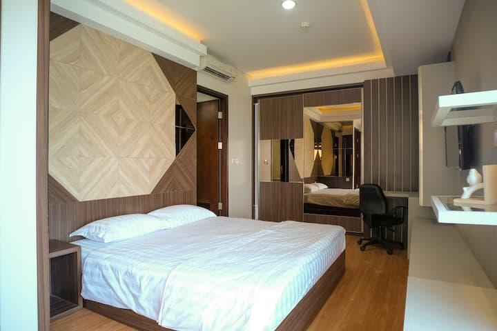 Balikpapan Serviced Apartment@Borneo Bay City 3BRb
