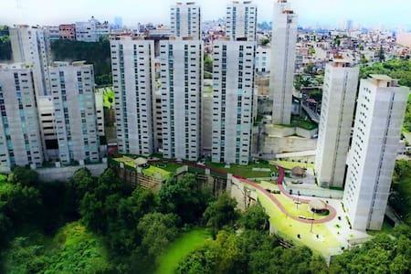 Habitación privada en departamento nuevo - Naucalpan de Juárez - Apartamento