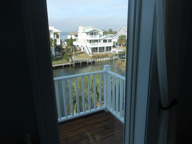 View of Lafitte Cove from Guest Bedroom
