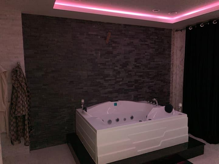 F2 lux Jaccuzzi sauna bord de mer