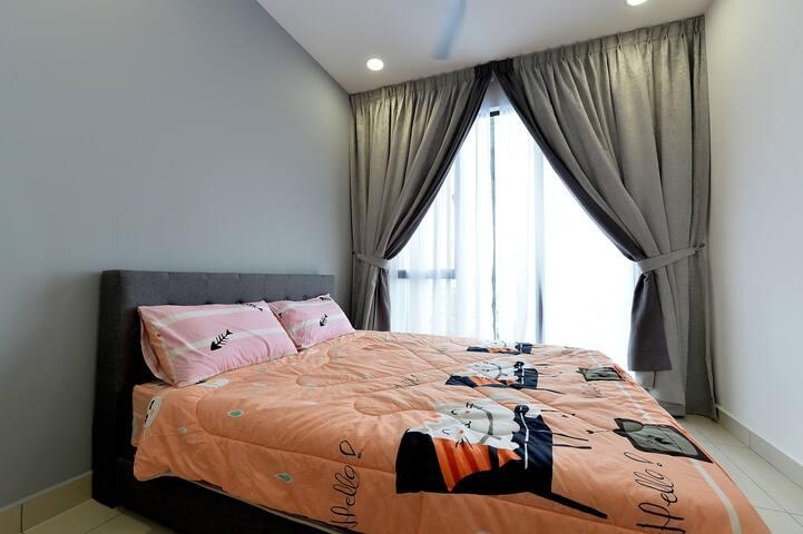 New J&G Private Bedroom @You City Cheras KL