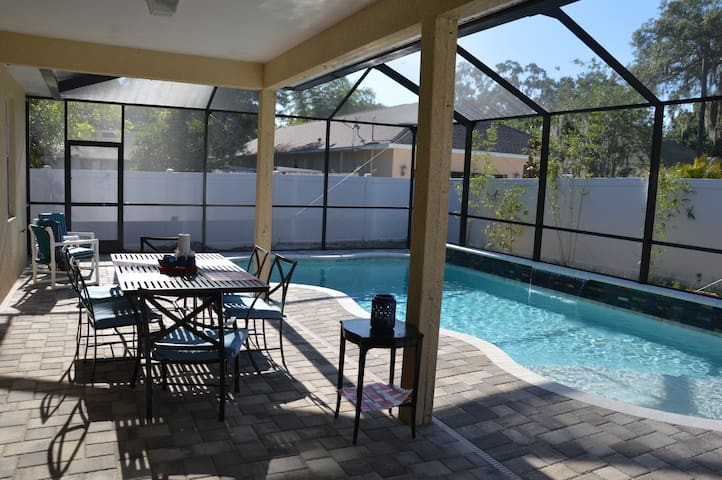 Downtown Safety Harbor Pool House - Safety Harbor - House