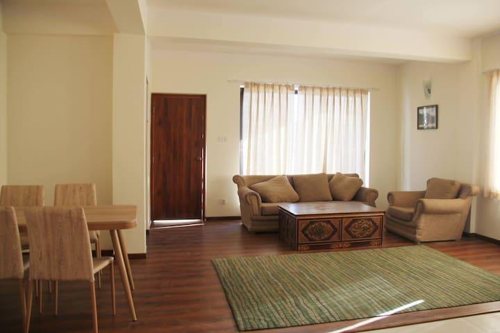 Boudha Residency 1: 3 Bedroom Apartment w/Balcony