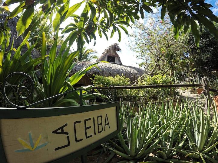 La Ceiba-cabaña con cocina