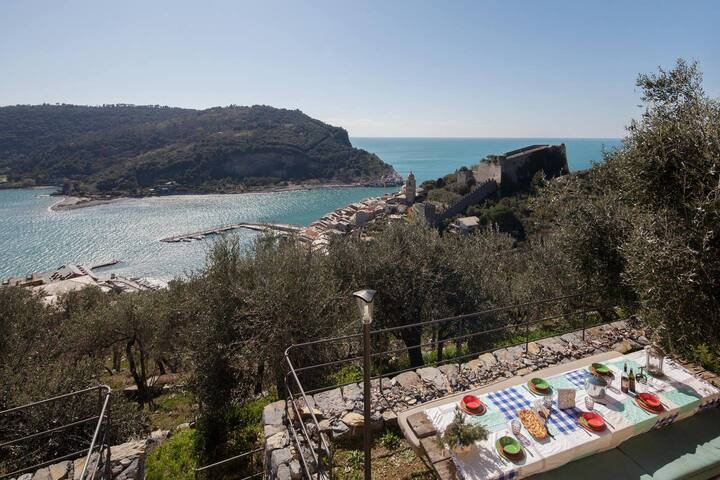 Fivestay - Portovenere stunning seaview along Hiking trail