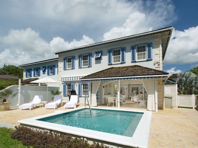 Villa Gina, 3 Beds & Pool, Holetown, St James