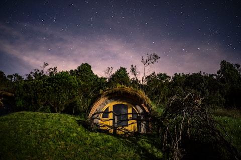 The Hobbit Homes at The Secret Garden Cotopaxi
