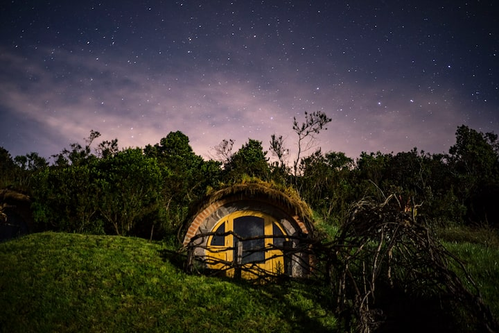 Casa Hobbit en The Secret Garden Cotopaxi