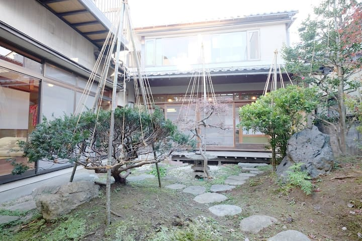 Homestay ryokan/beautiful garden/free internet - Kanazawa - Bed & Breakfast