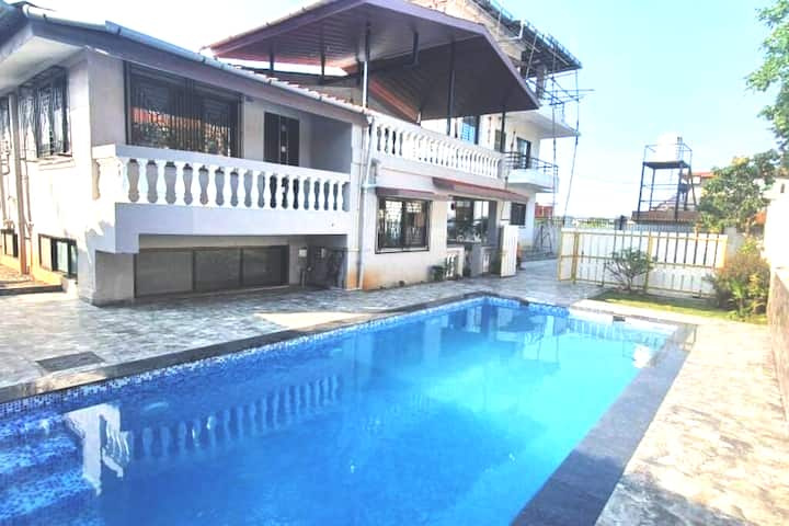 Lonavala 3bhk private villa with swimming pool.
