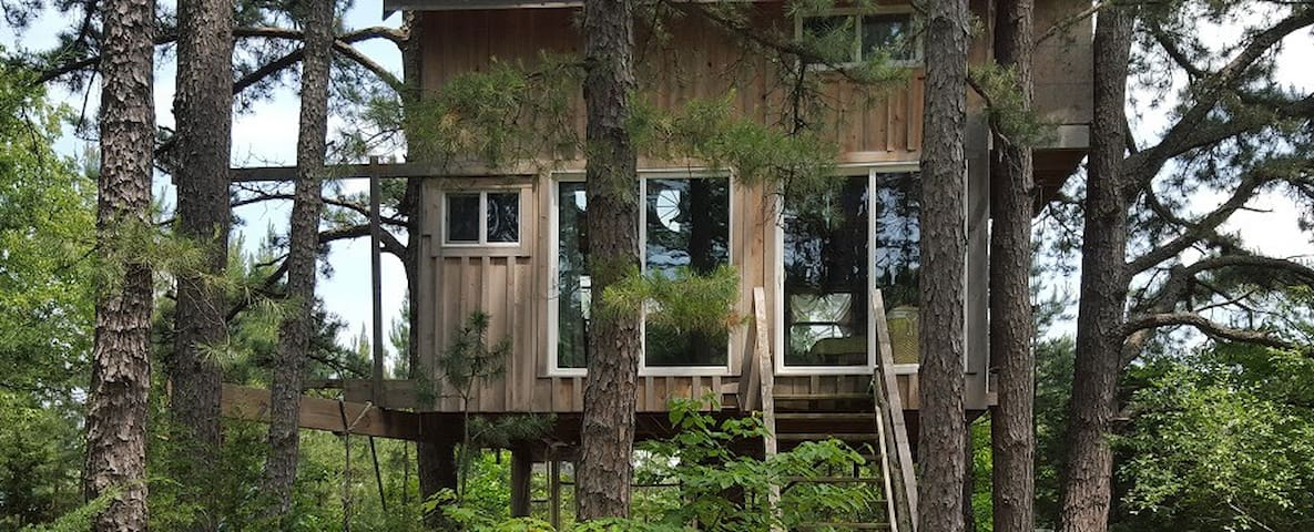 Treehouse Tiny House Farm Retreat in the Country - Grubville - Baumhaus