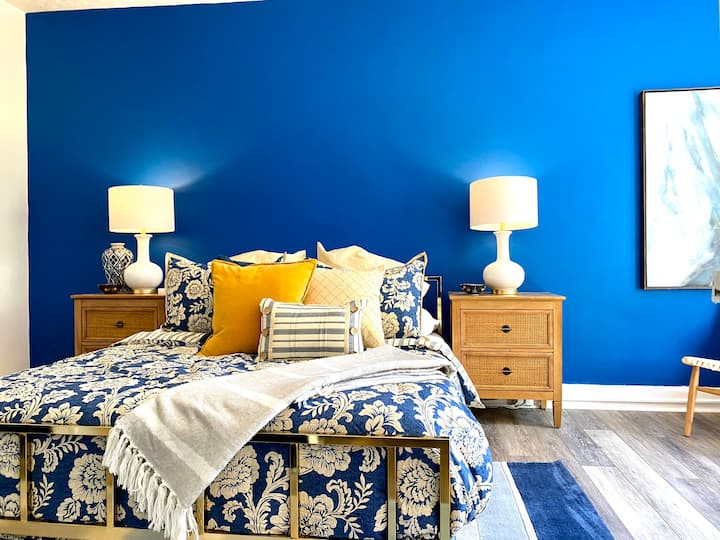 Malibu Blue ~ Modern with lots of Light!
