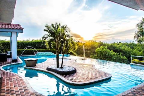 VIP Resort Privado! Picina, BBQ,Teatro! #1 Pereira