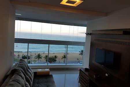 ★★★★★ Apartamento Vista pro Mar Praia da Costa Top