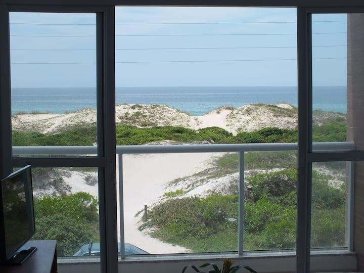 Campeche beach seafront apartment