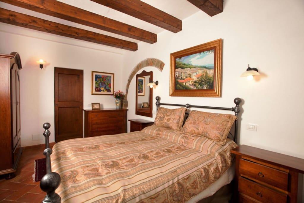 Suite number 2 at Villa La Mucchia, Cortona,Tuscany