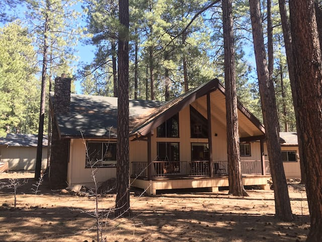 Rustic 4 Bedroom Family Cabin in the Pines - Pinetop - Huis