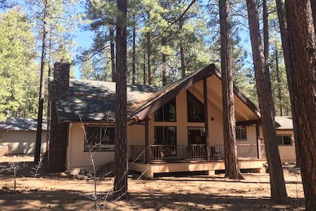 Rustic Family Cabin in the Pines - Pinetop