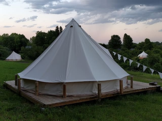 Firefly Upstate glamping at Gatherwild Ranch
