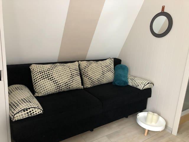 Canapé très confortable mais aussi 2ème lit 140/190