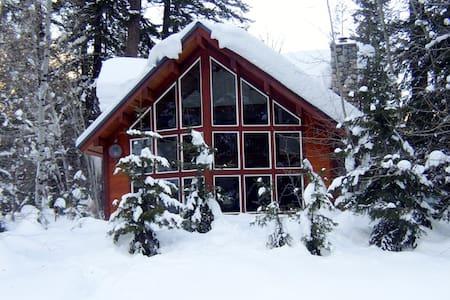 Incredible Log Home on Methow River - Mazama - Дом