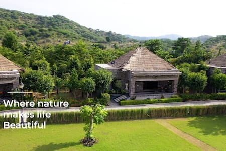 3 Room Jungle safari stay in Pali Rajasthan