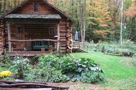 Beautiful Vermont Log Home Retreat - Putney - Ház