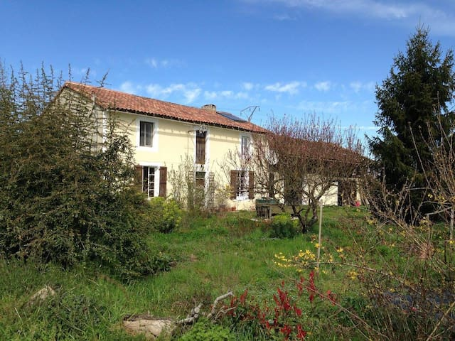 Beautiful farmhouse close to Saint Mont / Madiran - Riscle - Hus