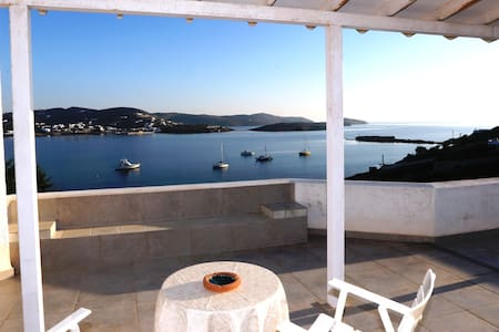Syros waterfront Villa Marfo - Finikas - Haus
