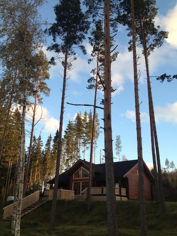 Luxury cottage on Saimaa Lake - Ruokolahti - Cabane