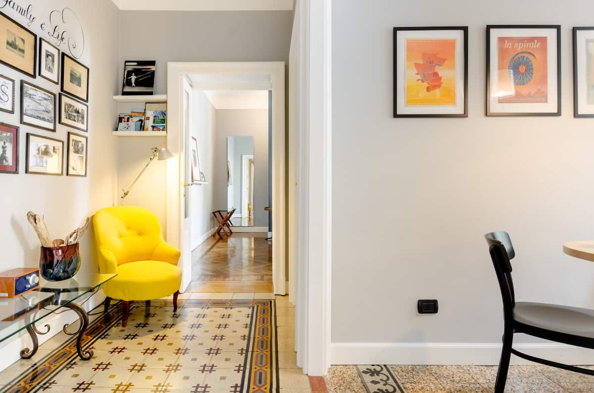 Explore Milan from a Downtown Suite in Historic Home