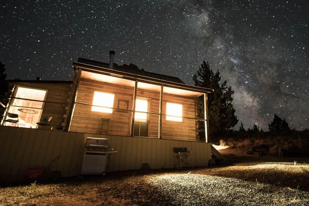 Unbeatable starry night skies!