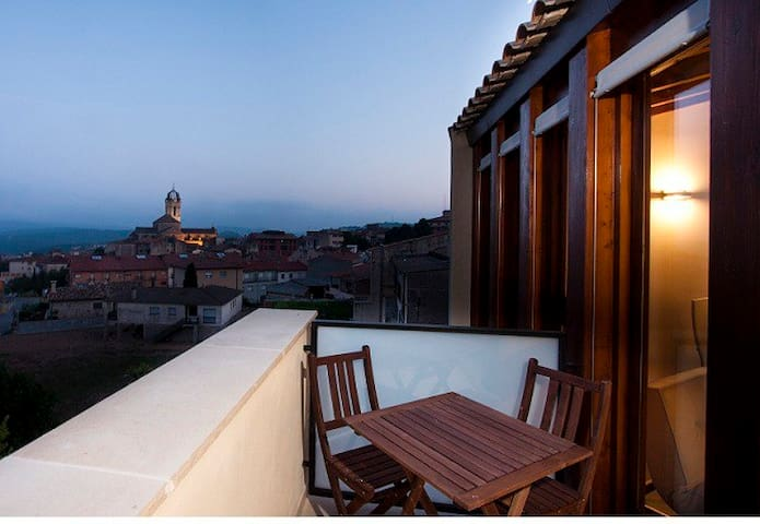 duplex penthouse with views in moia - Moià - Apartment