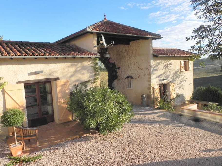 Two Contemporary 18th Century Gites South West of Toulouse and an hour from the Pyrenees.