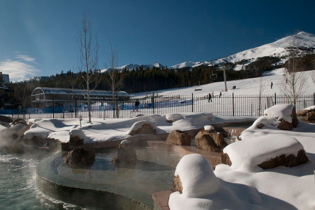 Heated Outdoor Pools and Independence Chair Lift