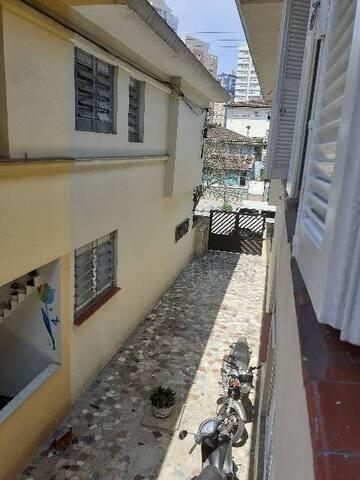 Qto privado Santos SP prox praia