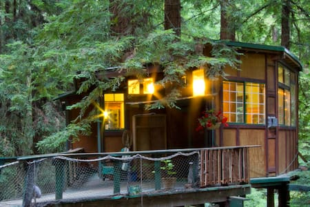 Redwood Treehouse Santa Cruz Mtns. - Watsonville