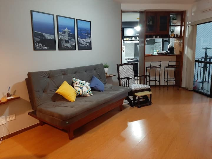 Lindo FLAT no Real Residence Hotel