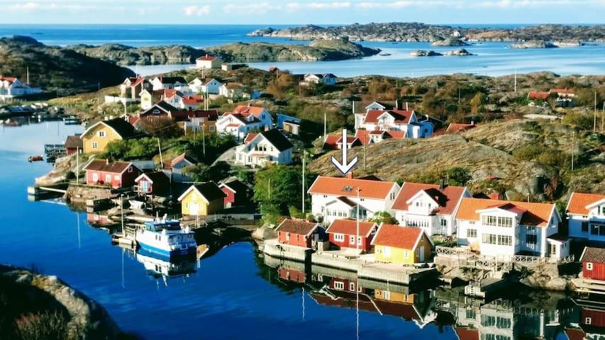 Bohuslän, skärgårdsidyll med egen brygga