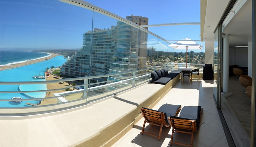 Modern 2BR/2BTH San Alfonso del Mar - Algarrobo - Lägenhet
