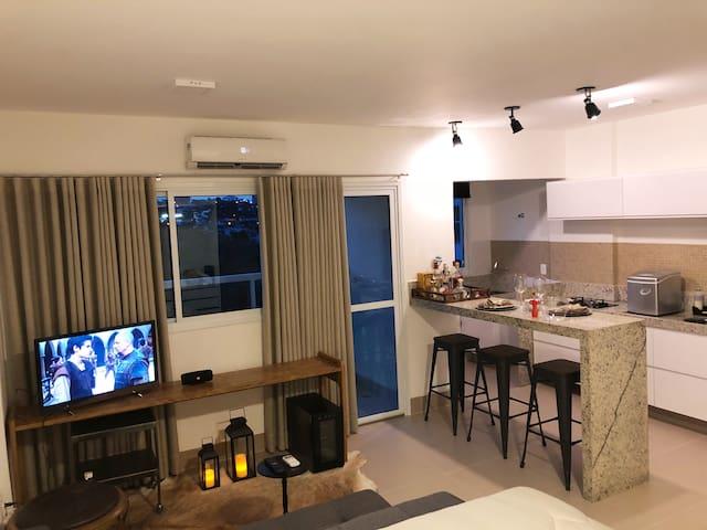 Studio Home Flat Novo (Proximo ao Praia clube)