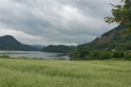 진안고원  ' 용담호의 아침 '