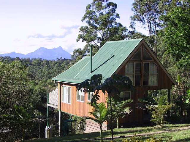 Calurla at Nimbin Chalet with loft