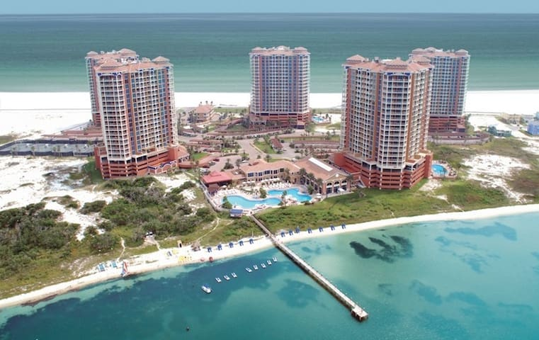 Amazing view 20th fl. Pensacola Bch - Pensacola Beach - Apartment